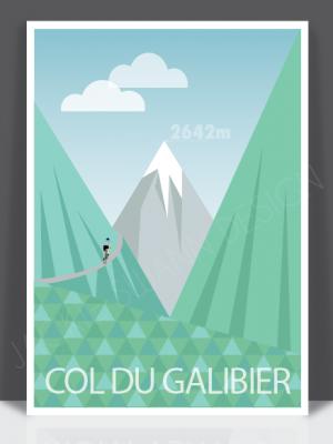 Col Du Galibier Print