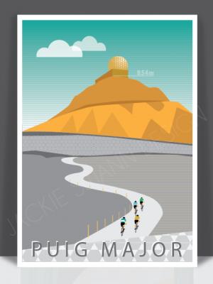 Puig Major Print