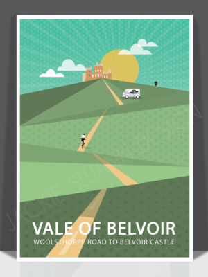 Belvoir Castle Print
