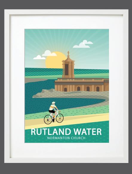 Rutland Water White Frame