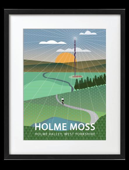 Holme Moss Black Frame