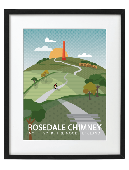 Rosedale Chimney Black frame