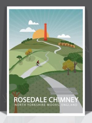 Rosedale Chimney Print