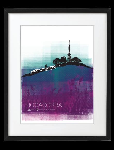 Rocacorba Black Frame