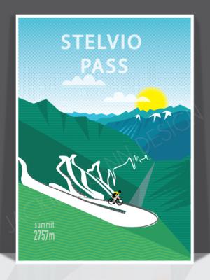 Stelvio Pass Print