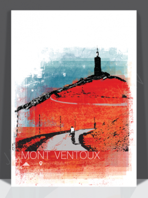 Ventoux Version 2 Print