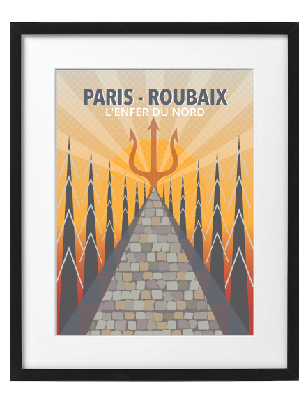 Paris Roubaix Frame Black