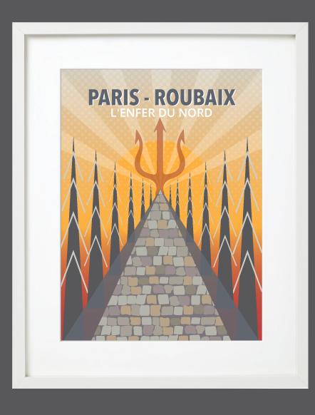 Paris-Roubaix White Frame