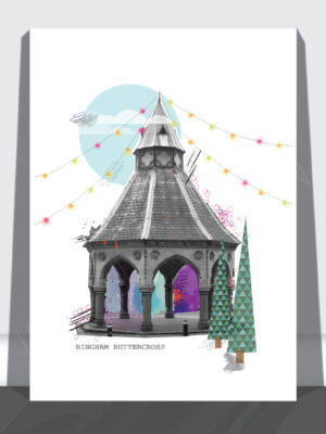 Bingham Buttercross Print