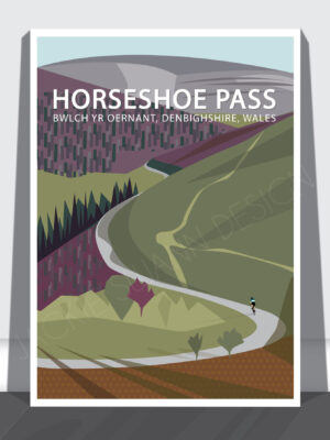 Horseshoe Pass Print