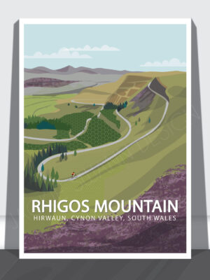 Rhigos Mountain Print