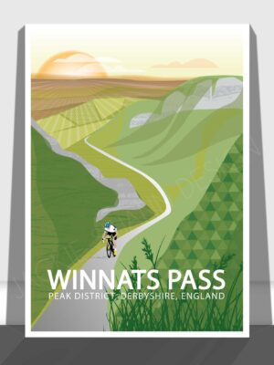 Winnats Pass Print