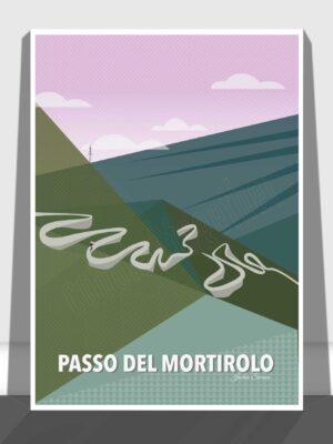 The Mortirolo Pass Print